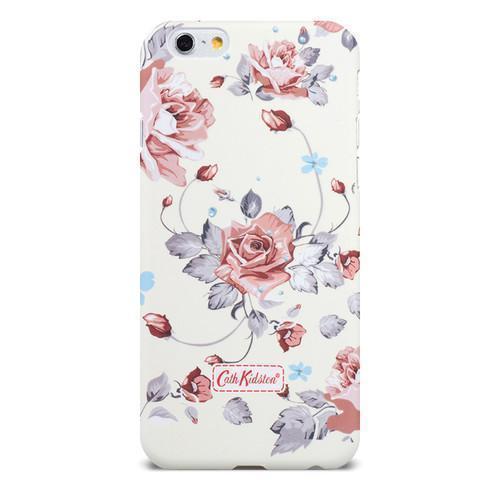 Чехол-накладка Cath Kidston для Apple iPhone 6/6S белая с цветными цветамидля iPhone 6/6S<br>Чехол-накладка Cath Kidston для Apple iPhone 6/6S белая с цветными цветами<br>