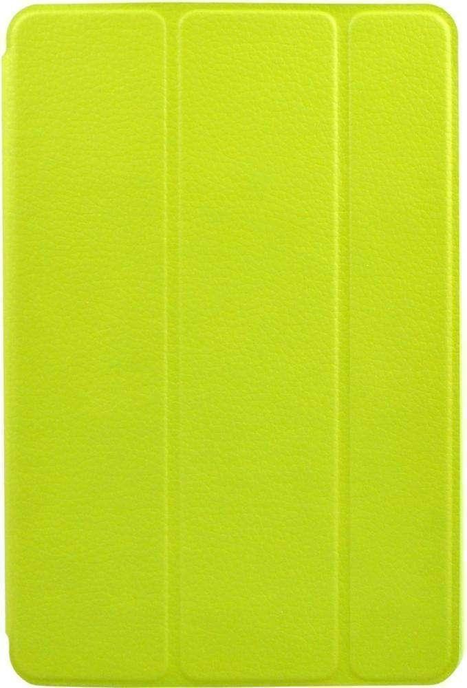 Чехол-книжка iCover Carbio для Apple iPad mini 4 (натуральная кожа с подставкой) Lime Green