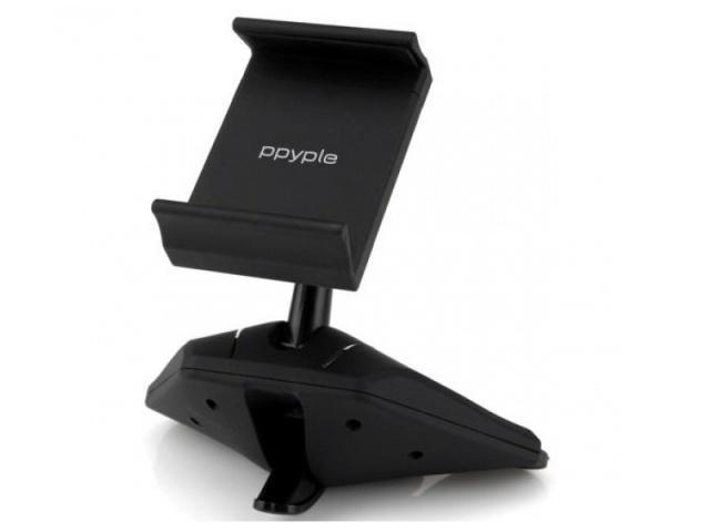Держатель автомобильный Ppyple CD-N5 в CD-Rom слот проигрывателя для телефона 3.5-6 дюймовДержатель в CD-Rom<br>Держатель автомобильный Ppyple CD-N5 в CD-Rom слот проигрывателя для телефона 3.5-6 дюймов<br>