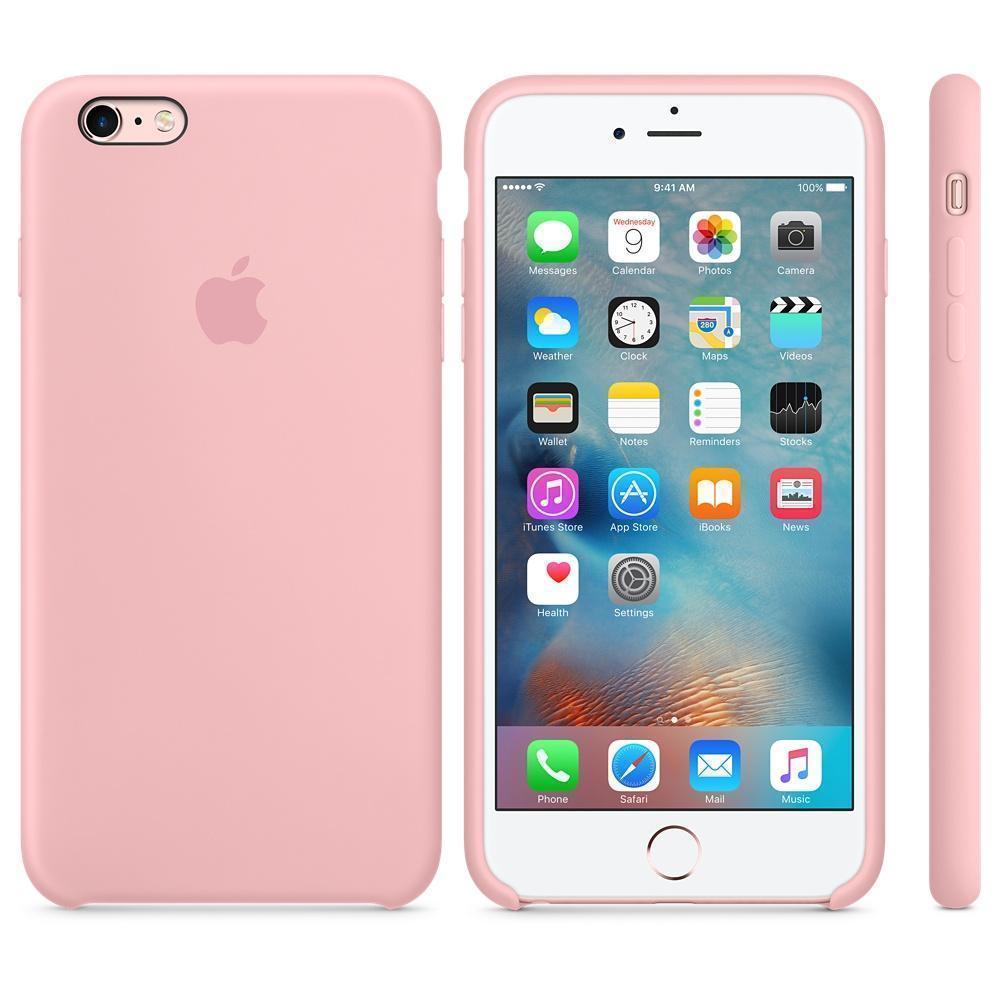 Чехол-накладка Apple Silicone Case для iPhone 6 Plus/6S Plus силиконовый розовыйдля iPhone 6 Plus/6S Plus<br>Чехол-накладка Apple Silicone Case для iPhone 6 Plus/6S Plus силиконовый розовый<br>
