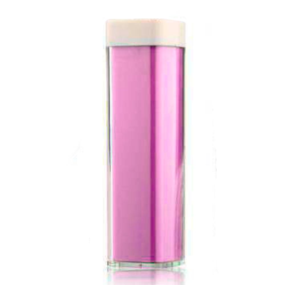 Универсальный внешний аккумулятор Power Bank GLK H-55 2600 mAh, 1 А, USBx1 пластик розовый