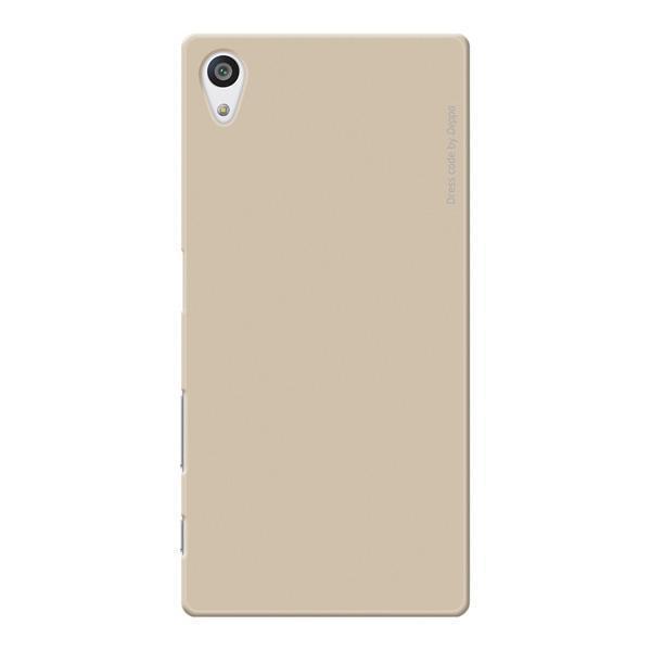 Чехол-накладка Deppa Air Case для Sony Xperia Z3 Plus / Z3 Plus Dual (золотой) + защитная пленка фото