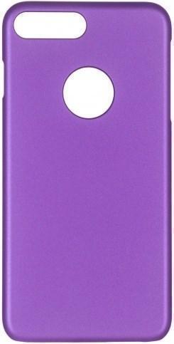 Чехол-накладка iCover Rubber для Apple iPhone 7 Plus/8 Plus пластиковый фиолетовый (IP7P-RF-PP) фото