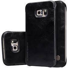 Чехол-книжка Nillkin QIN Leather Case для Samsung Galaxy S6 Edge (SM-G925) натуральная кожа черныйдля Samsung<br>Чехол-книжка Nillkin QIN Leather Case для Samsung Galaxy S6 Edge (SM-G925) натуральная кожа черный<br>