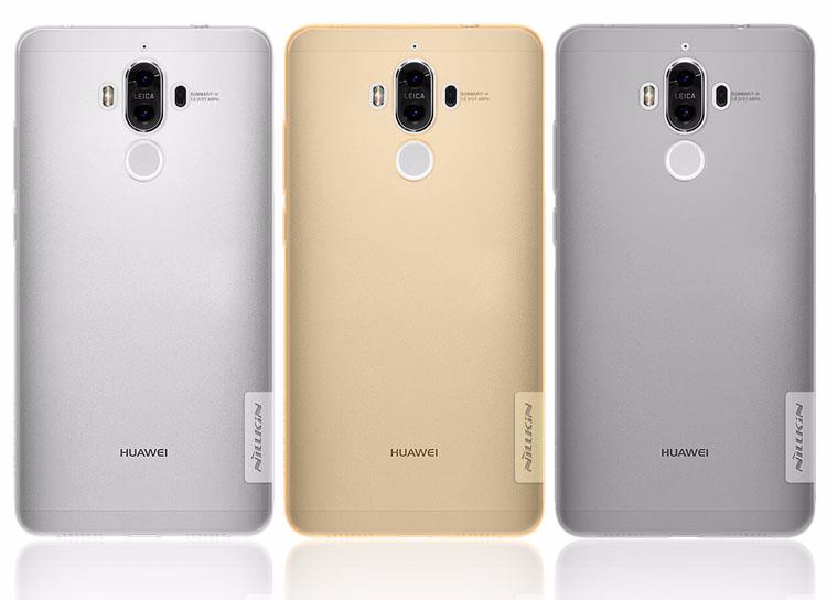 Чехол-накладка Nillkin Nature 0.6mm для Huawei Mate 9 / Mate 9 Dual sim силиконовый прозрачно-чёрныйдля Huawei<br>Чехол-накладка Nillkin Nature 0.6mm для Huawei Mate 9 / Mate 9 Dual sim силиконовый прозрачно-чёрный<br>