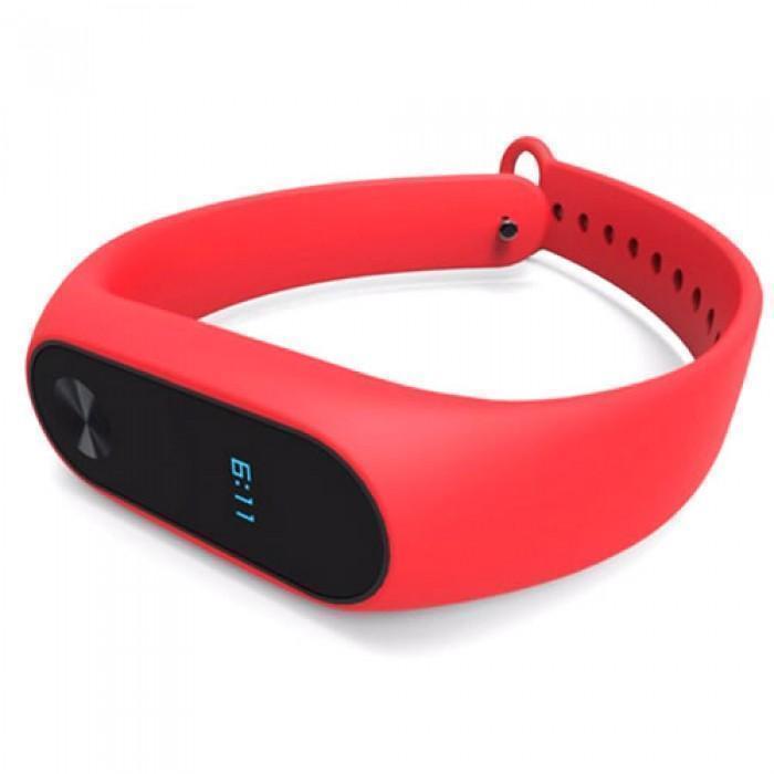 Ремешок силиконовый для фитнес трекера Xiaomi Mi Band 2 redРемешки и браслеты для умных часов и фитнес-браслетов Xiaomi<br>Ремешок силиконовый для фитнес трекера Xiaomi Mi Band 2 red<br>