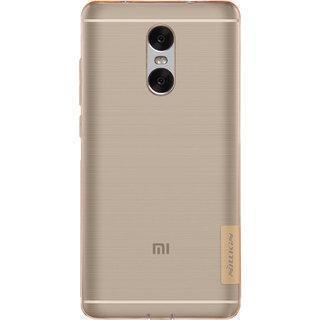 Чехол-накладка Nillkin Nature для Xiaomi Redmi Pro силиконовый прозрачно-золотойдля Xiaomi<br>Чехол-накладка Nillkin Nature для Xiaomi Redmi Pro силиконовый прозрачно-золотой<br>