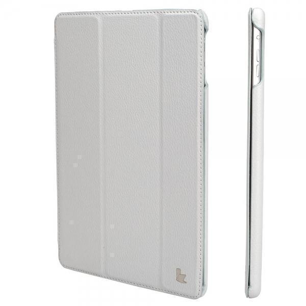 Чехол-книжка JustCase для Apple iPad Air (искусственная кожа с подставкой) белыйдля Apple iPad Air<br>Чехол-книжка JustCase для Apple iPad Air (искусственная кожа с подставкой) белый<br>
